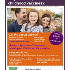 Do you have questions about vaccinations?